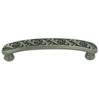 Stone Mill Hardware Weathered Nickel Oakley Cabinet Pull (Case of 25)