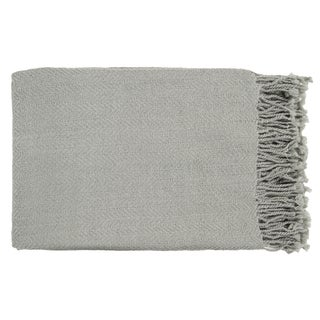Woven Saki Acrylic Throw Blanket