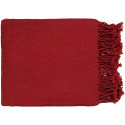 Woven Angora Acrylic Throw Blanket (50 x 60)