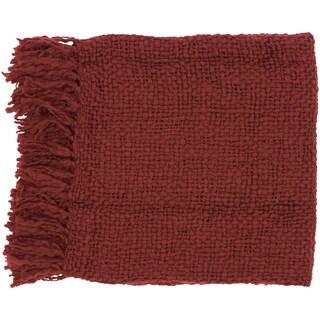 Woven Cornell Acrylic and Wool Throw
