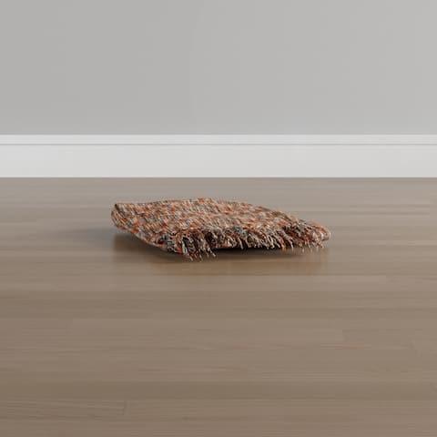 Carson Carrington Langesund Woven Acrylic Throw - Multi