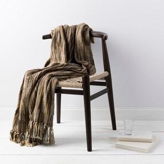 Scavenger Woven Acrylic Throw
