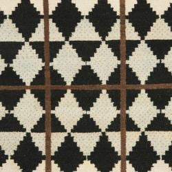 Safavieh Hand-knotted Gabeh Tribal Black/ Multi Wool Rug (6' x 9') - Thumbnail 2