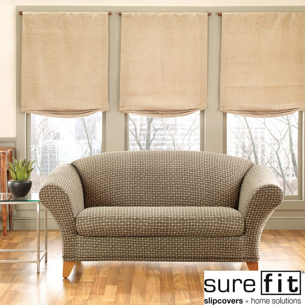 Sure Fit Stretch Baxter 2-piece Loveseat Slipcover