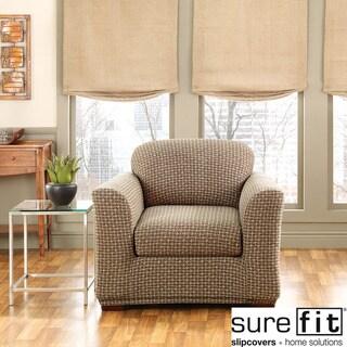 Stretch Baxter 2-piece Chair Slipcover