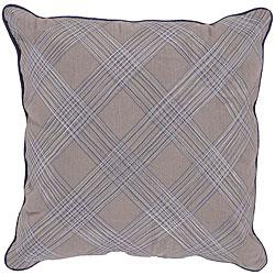 Bole Gray Down Decorative Pillow
