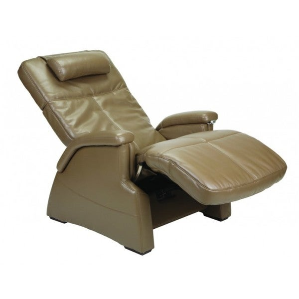 Perfect Chair Zero Gravity Electric Leather Recliner