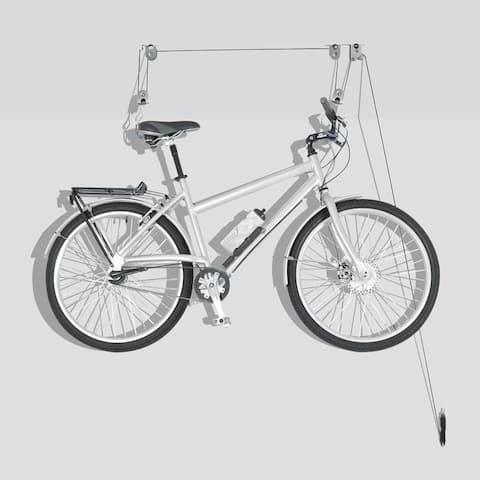 Delta Single Bike Ceiling Hoist Bike Rack (Pack of 2)