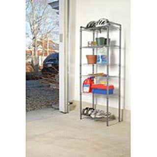 Link to The Art of Storage Silver 6-tier Quick Rack Similar Items in Electrical Cords