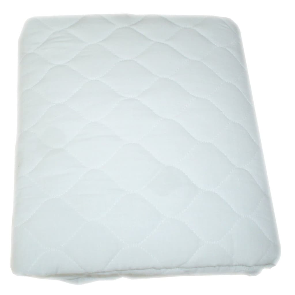 ABC Waterproof Quilted Mattress Crib and Toddler Pad