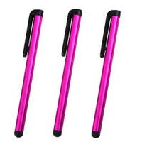 INSTEN Pink Universal Touch Screen Stylus (Pack of 3)