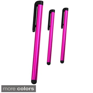INSTEN Four-inch Universal Touch Screen Stylus Set (Pack of Three)