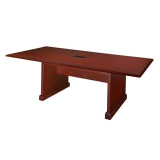 Regency Seating Rectangle Mahogany Veneer Conference Table (96x48)