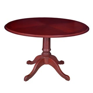 Regency Seating Round Mahogany Veneer Table (42-inch diameter)