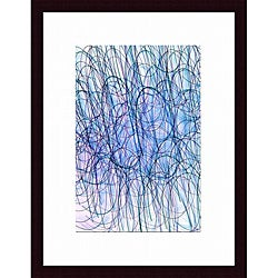 Joe Gemignani 'Confusion Inverted' Wood Framed Art Print