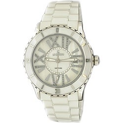 Le Chateau Women's 'Persida' White Ceramic Watch