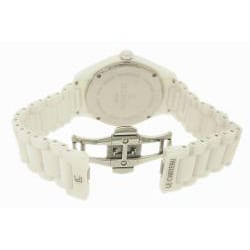 Le Chateau Men's Classico Whtie Ceramic Sapphire Crystal Watch