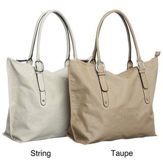 Mondani 'Riza' Perforated with Mesh Underlay Tote Bag