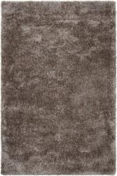 Hand-woven Brown Jicama Super Soft Shag Rug (8' x 10')