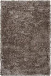 Silver Orchid Florelle Hand-woven Brown Super Soft Shag Area Rug - 8' x 10' - Thumbnail 0