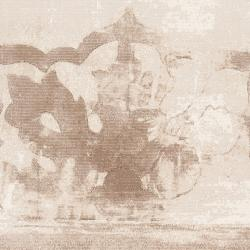 Meticulously Woven Tan Spratay Abstract Rug (7'10 x 10') - Thumbnail 2