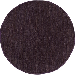Hand-woven Natural Fiber Jute Natural Pointus Area Rug (8' Round) - Thumbnail 0