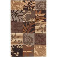 Hand-tufted Brown Madela Area Rug (9' x 13')
