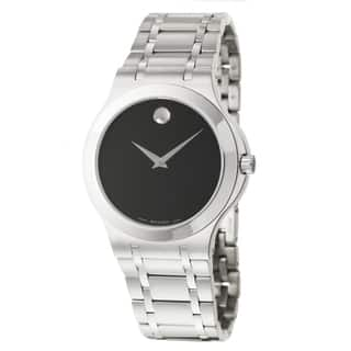 Movado Men's 0606276 'Corporate Exclusive' Stainless Steel Quartz Watch|https://ak1.ostkcdn.com/images/products/6471125/Movado-Mens-0606276-Corporate-Exclusive-Stainless-Steel-Quartz-Watch-P14066458.jpg?impolicy=medium