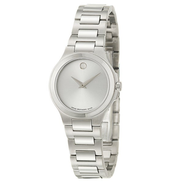 Movado Women's 'Movado Collection' Stainless Steel Quartz Watch