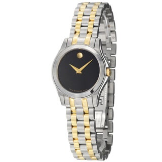 Movado Women's 0605976 'Corporate Exclusive' Two-Tone Stainless Steel Watch