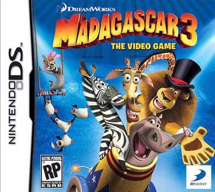 Nintendo DS - Madagascar 3