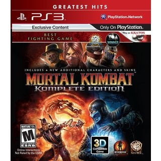 PS3 - Mortal Kombat Komplete Edition