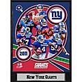 2011 New York Giants 9 X 12 Team Plaque