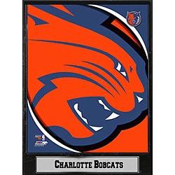 2011 Charlotte Bobcats Logo Plague