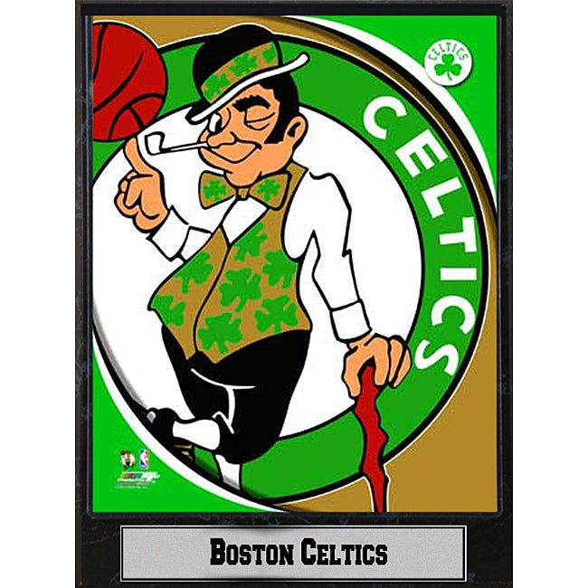 2011 Boston Celtics 9 X 12 Logo Plaque