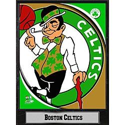 2011 Boston Celtics 9 X 12 Logo Plaque - Thumbnail 0