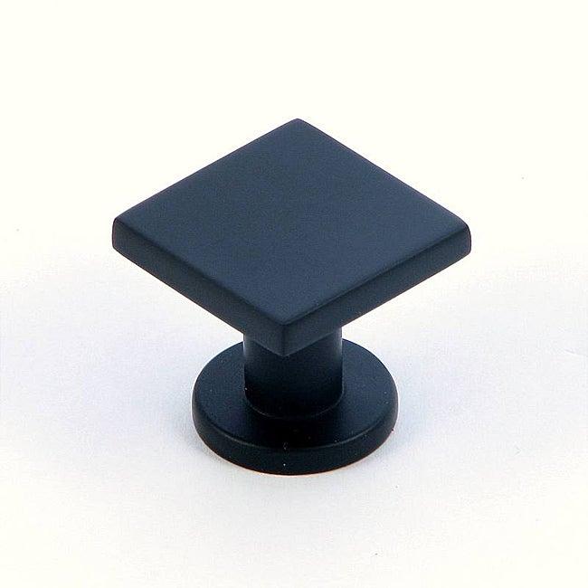 Stone Mill 'SoHo' Matte Black Cabinet Knobs (Case of 25)