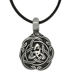 Carolina Glamour Collection Pewter Unisex Celtic Unity Necklace