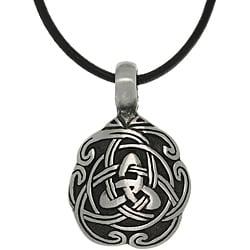 Carolina Glamour Collection Pewter Unisex Celtic Unity Necklace - Thumbnail 0