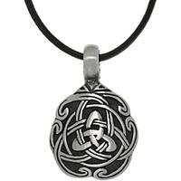 Carolina Glamour Collection Pewter Unisex Celtic Unity Necklace