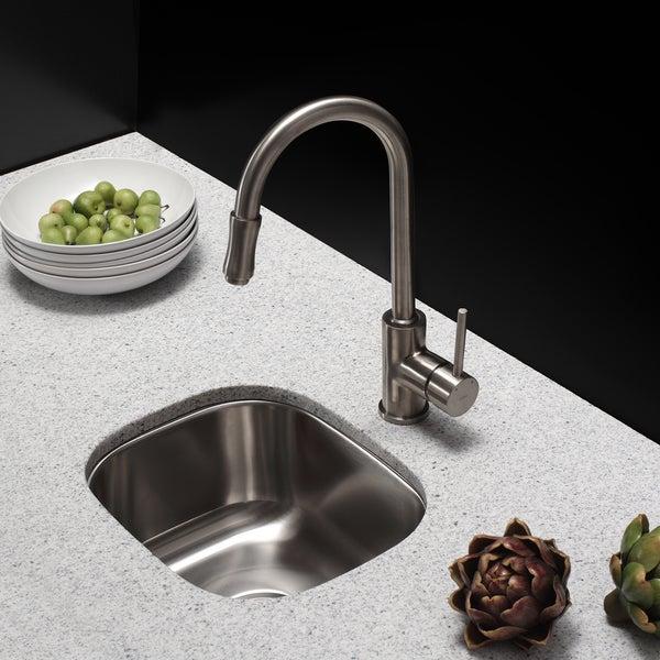 Undermount Bar Sinks Calgary Inch Single Bowl Gauge Stainless Steel Sink  Soundproofing Lowes Vaulttm Top Mount