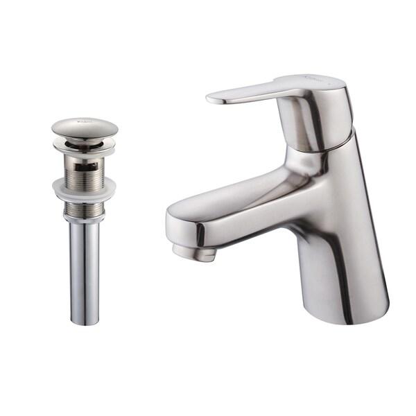 Kraus Ferus Single Lever Bas-inch Faucet/ Pop Up Drain