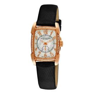 Stuhrling Original Women's Carnegie Rose Swiss Quartz Watch