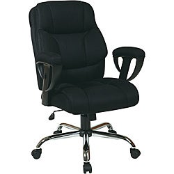 Office Star Executive Big Man's Chair with Mesh Seat and Back