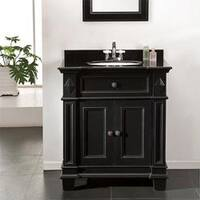 OVE Decors Eliza 31-inch Single Sink Bathrom Vanity with Granite Top