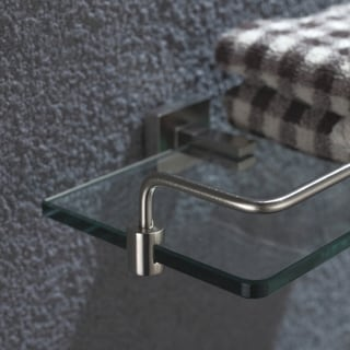 KRAUS Bathroom Accessories - Shelf with Railing