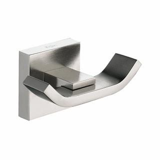 KRAUS Bathroom Accessories - Double Hook in Brushed Nickel - Brushed nickel