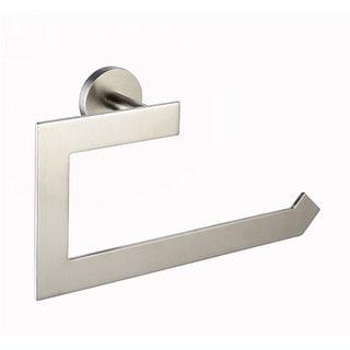 KRAUS Bathroom Accessories - Towel Ring in Brushed Nickel - Brushed nickel