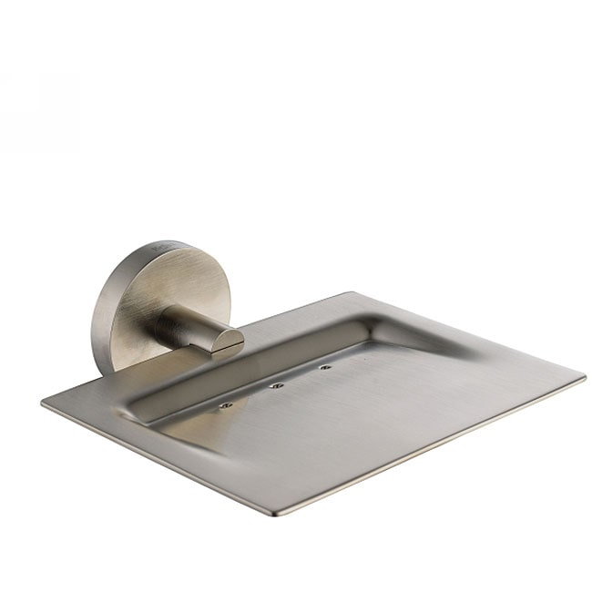 Kraus Imperium Bathroom Accessory Brass Soap Dish Brushed Nickel