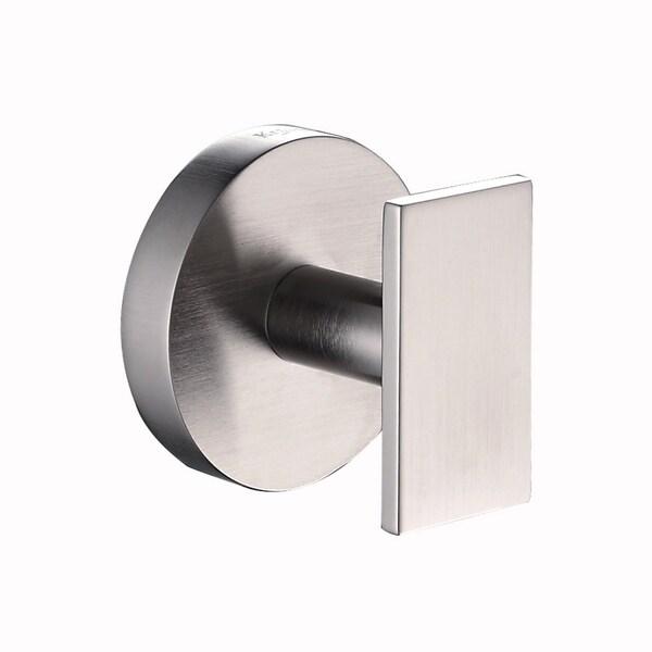 KRAUS Bathroom Accessories - Hook in Brushed Nickel - Brushed nickel